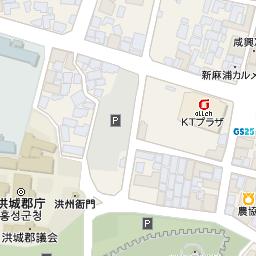 洪州城 (史跡第231号)の地図と場...
